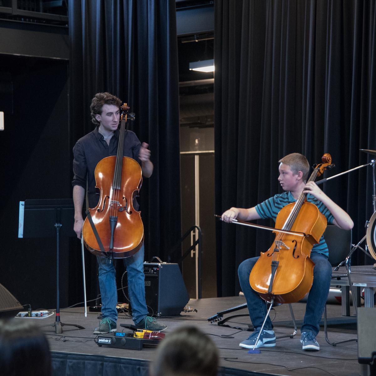 Matthew, Cello, Oakville Suzuki